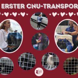 Erster CNU Transport