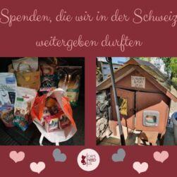 Spenden Schweiz
